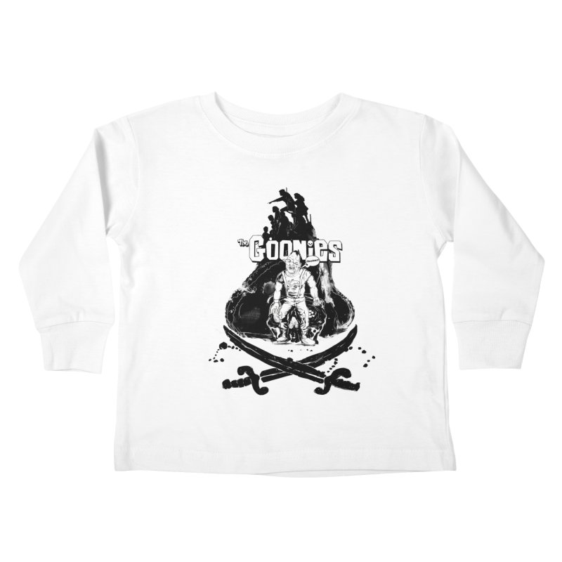 The Goonies! Kids Toddler Longsleeve T-Shirt by ilustramurilo's Artist Shop