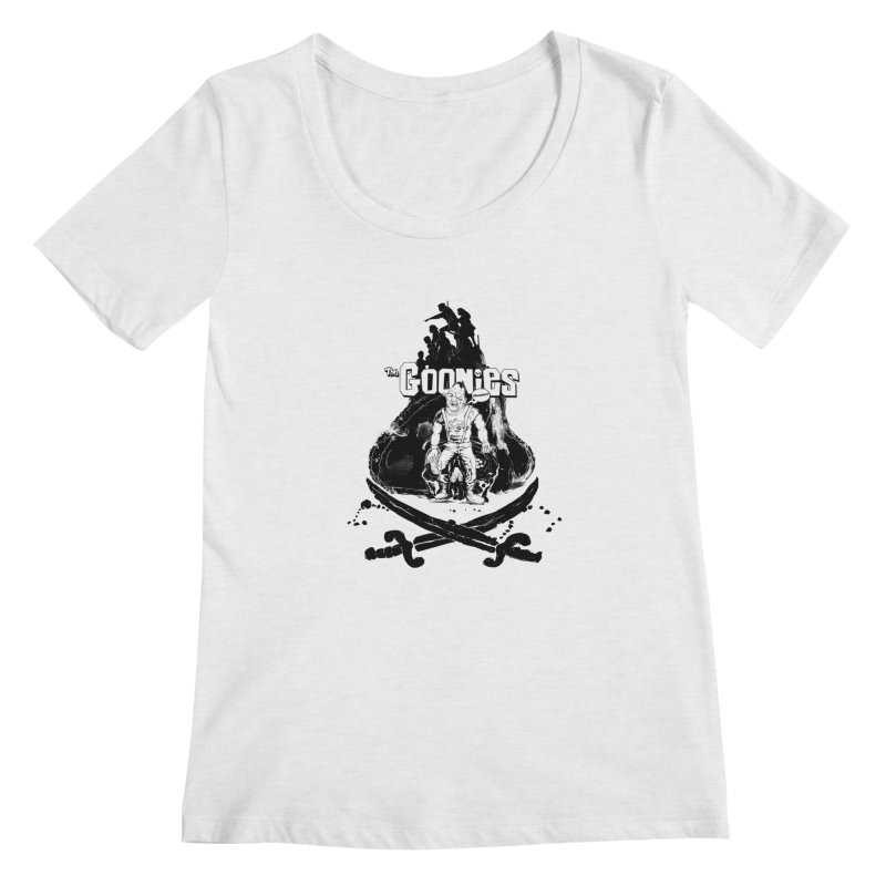 The Goonies! Women's Scoopneck by ilustramurilo's Artist Shop
