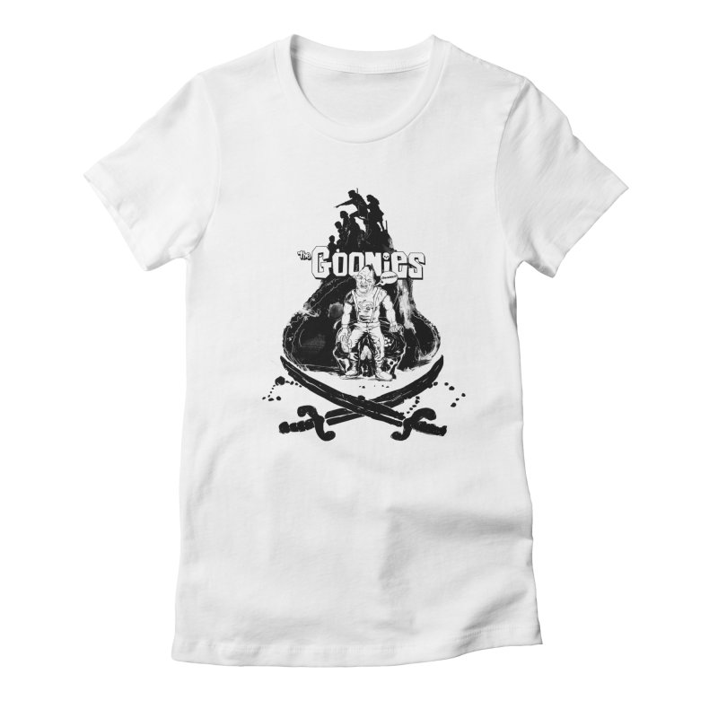 The Goonies! Women's Fitted T-Shirt by ilustramurilo's Artist Shop
