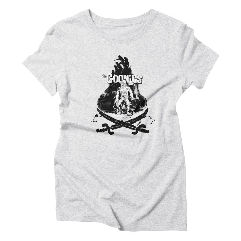 The Goonies! Women's Triblend T-Shirt by ilustramurilo's Artist Shop