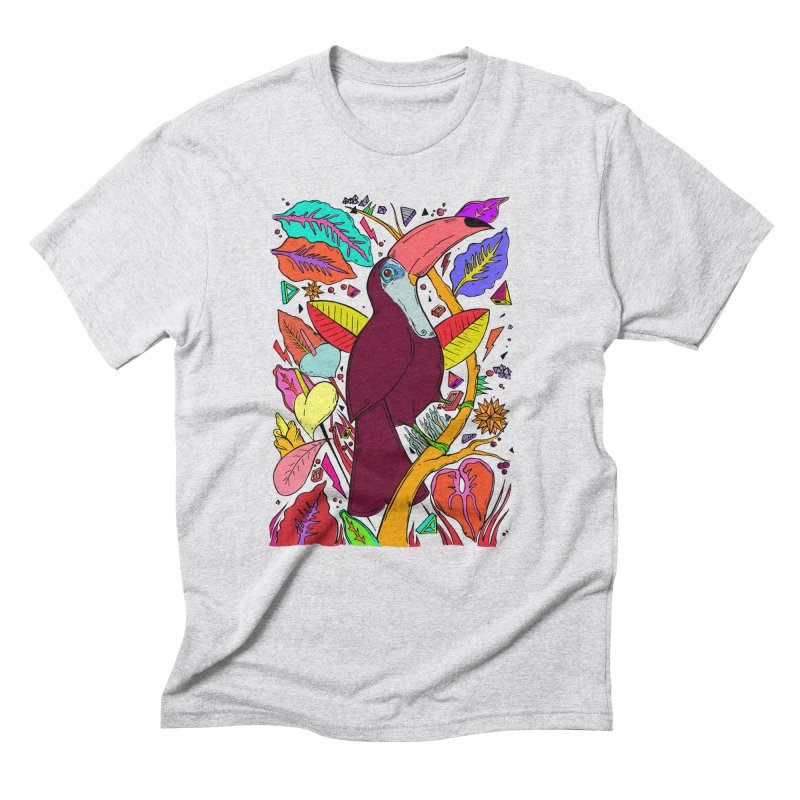 TOUCAN Men's Triblend T-Shirt by ilustramurilo's Artist Shop