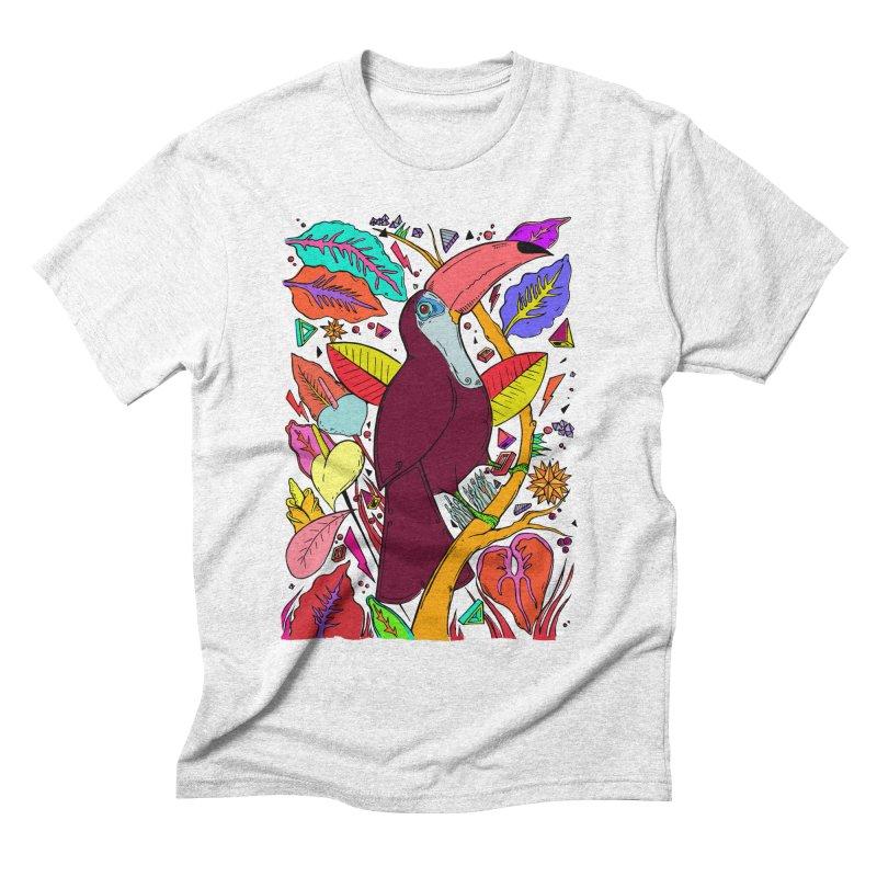 TOUCAN Men's Triblend T-shirt by ilustramurilo's Artist Shop