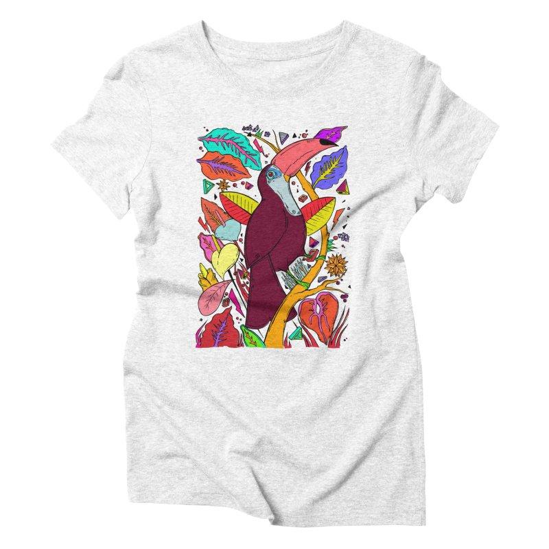 TOUCAN Women's Triblend T-shirt by ilustramurilo's Artist Shop