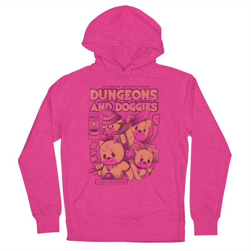 Dungeon and Doggies Men's French Terry Pullover Hoody by ilustrata