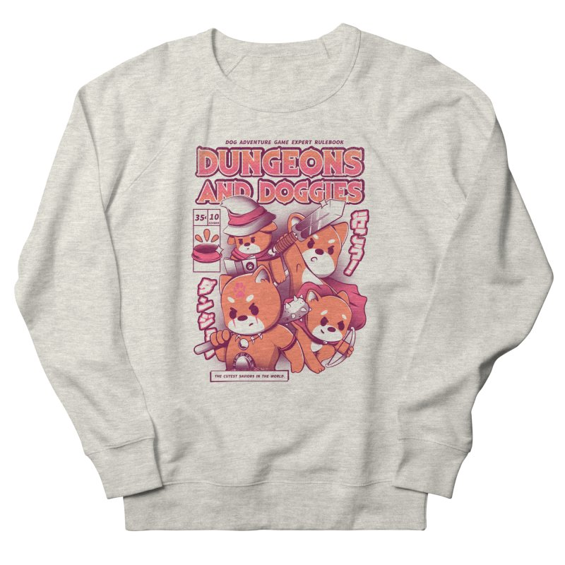 Dungeon and Doggies Women's French Terry Sweatshirt by ilustrata