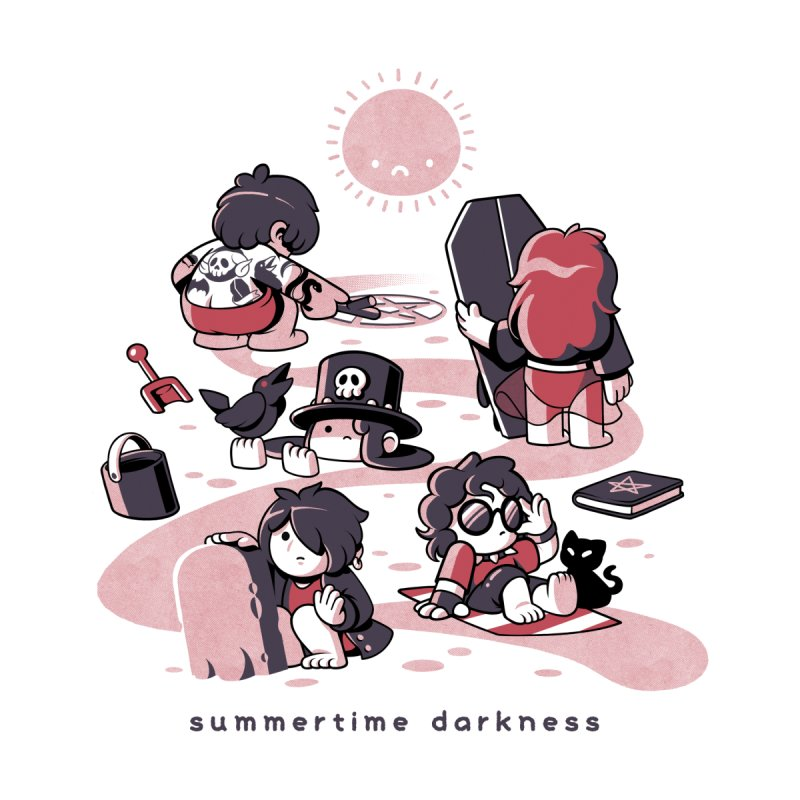 Summertime Darkness by ilustrata