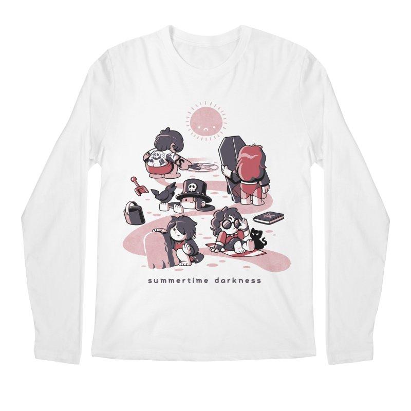 Summertime Darkness Men's Regular Longsleeve T-Shirt by ilustrata
