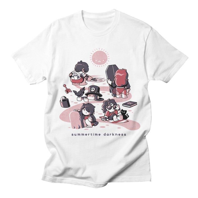 Summertime Darkness Men's T-Shirt by ilustrata