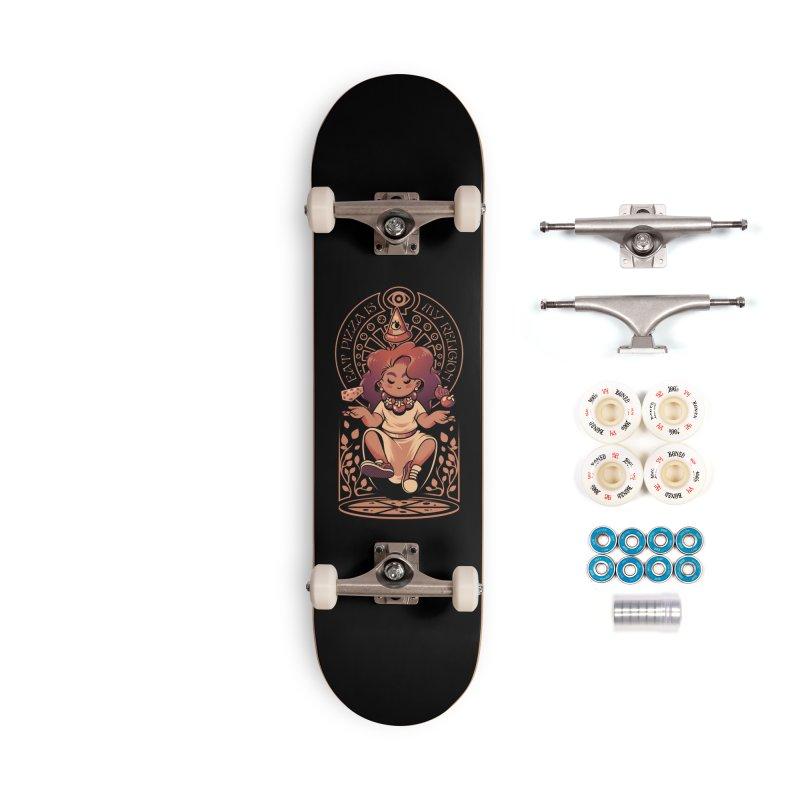 Pizza Goddess Accessories Complete - Premium Skateboard by ilustrata