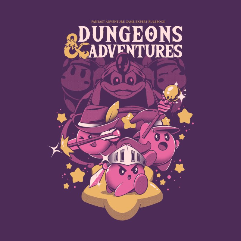 Dungeons and Adventures by ilustrata