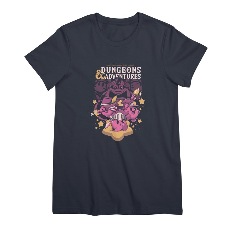 Dungeons and Adventures Women's Premium T-Shirt by ilustrata