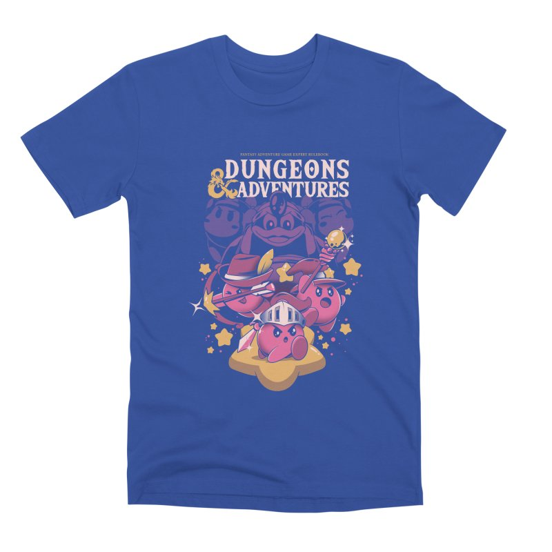 Dungeons and Adventures Men's Premium T-Shirt by ilustrata