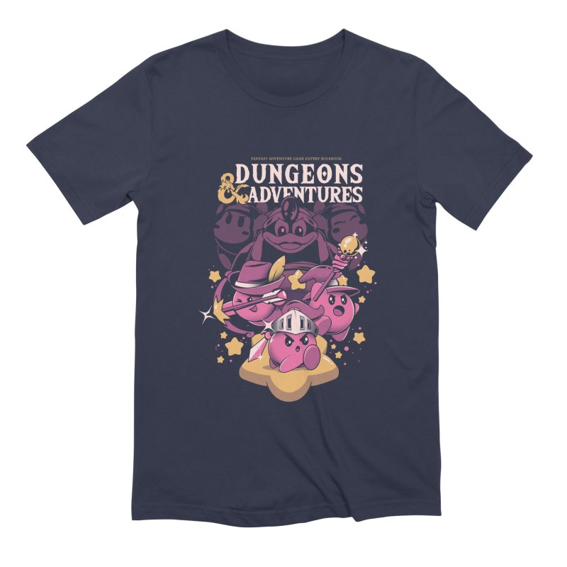 Dungeons and Adventures Men's Extra Soft T-Shirt by ilustrata