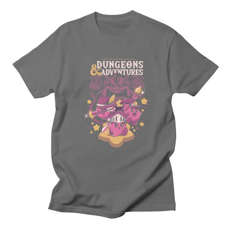 Dungeons and Adventures Men's T-Shirt by ilustrata