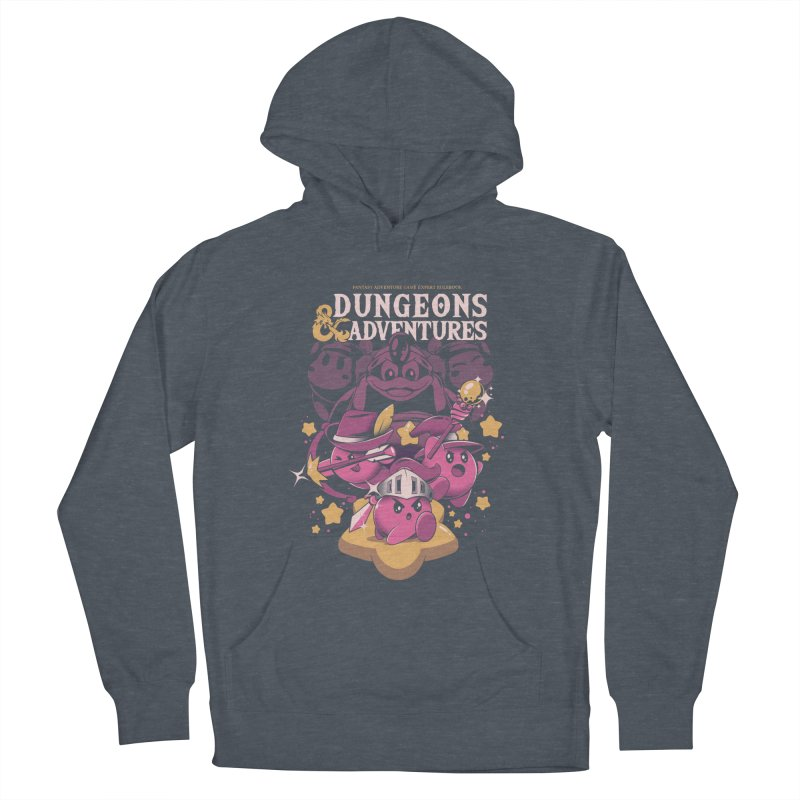 Dungeons and Adventures Men's French Terry Pullover Hoody by ilustrata