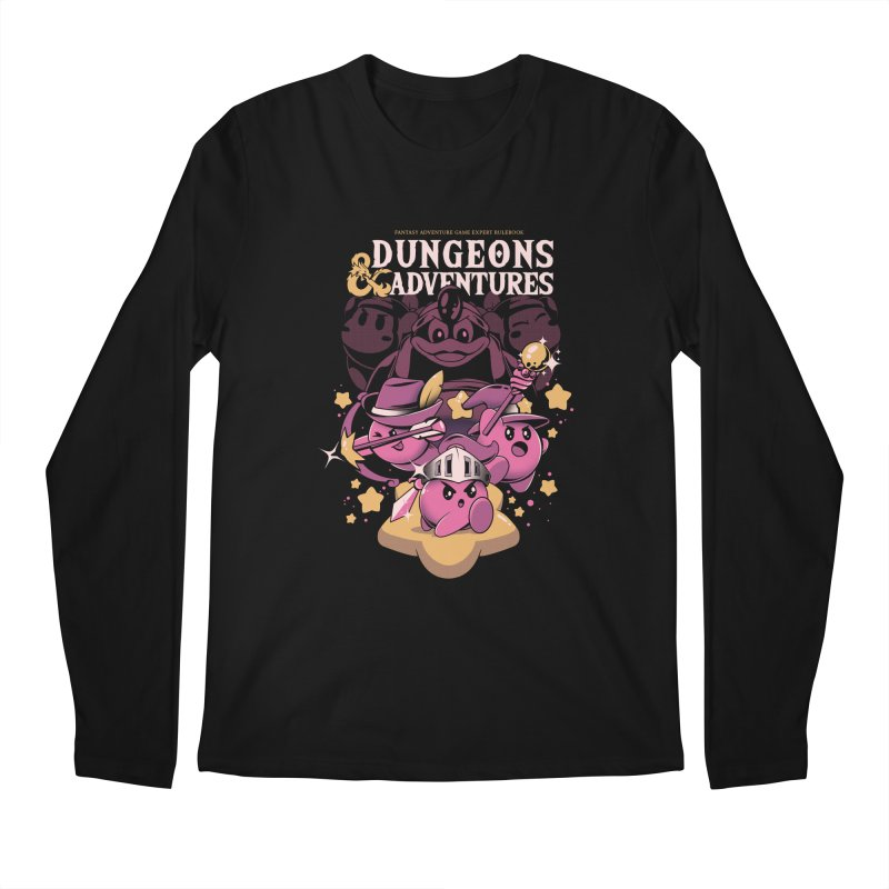Dungeons and Adventures Men's Regular Longsleeve T-Shirt by ilustrata