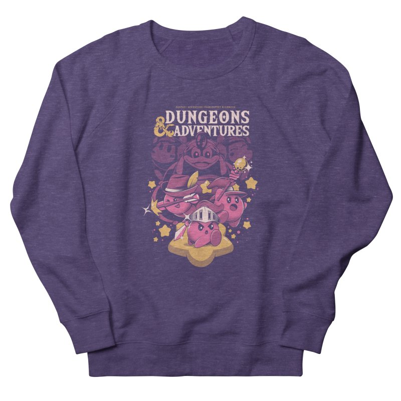Dungeons and Adventures Women's French Terry Sweatshirt by ilustrata