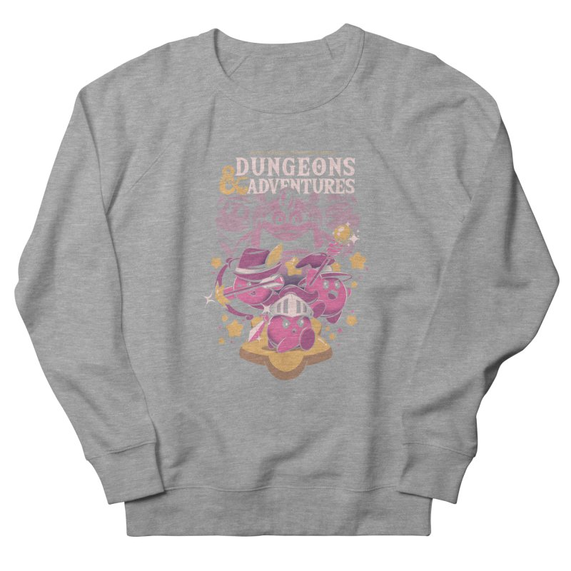 Dungeons and Adventures Men's French Terry Sweatshirt by ilustrata