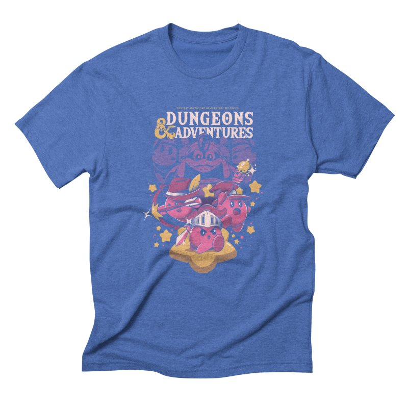 Dungeons and Adventures Men's Triblend T-Shirt by ilustrata