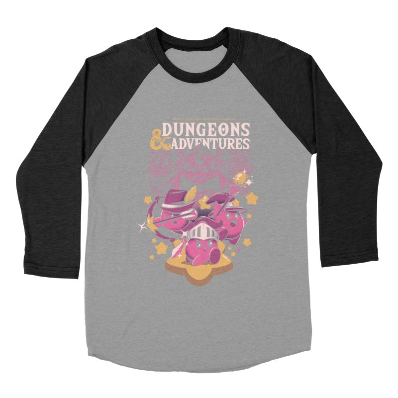 Dungeons and Adventures Women's Baseball Triblend Longsleeve T-Shirt by ilustrata