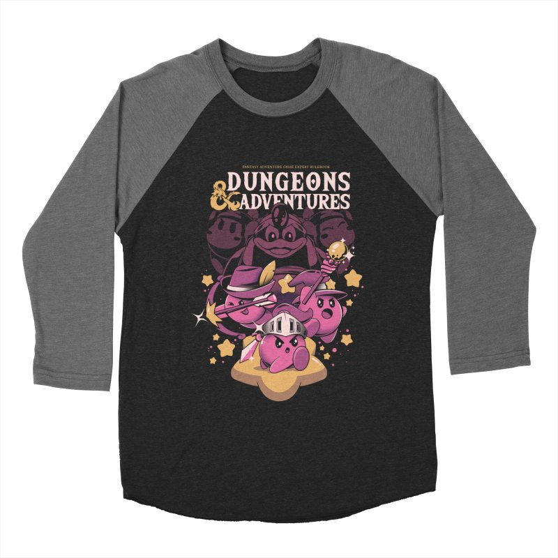 Dungeons and Adventures Men's Baseball Triblend Longsleeve T-Shirt by ilustrata