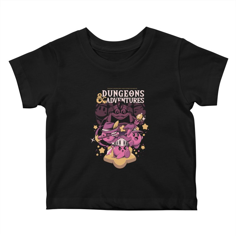 Dungeons and Adventures Kids Baby T-Shirt by ilustrata