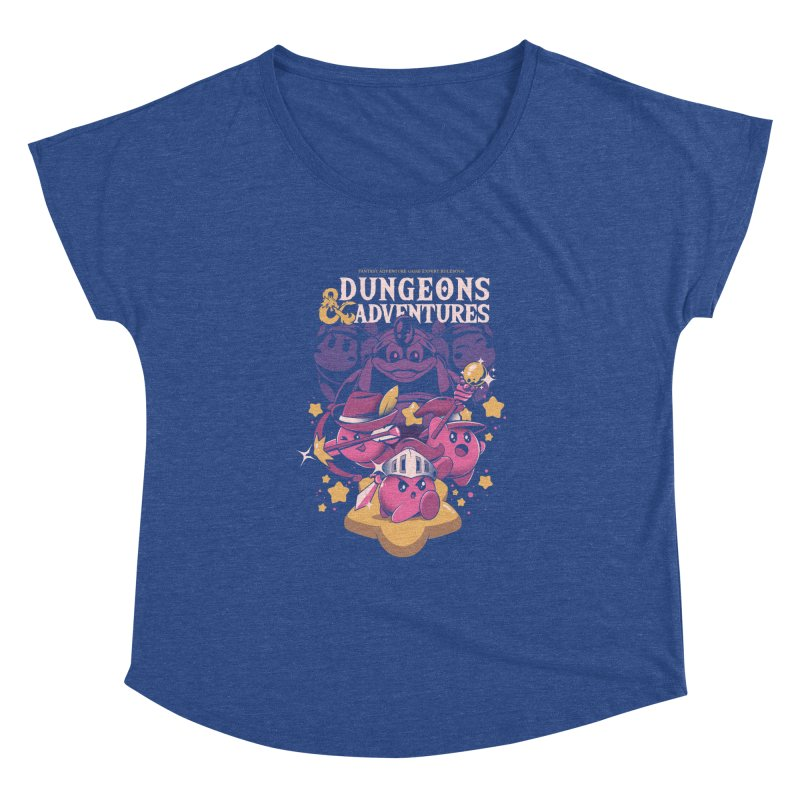 Dungeons and Adventures Women's Dolman Scoop Neck by ilustrata
