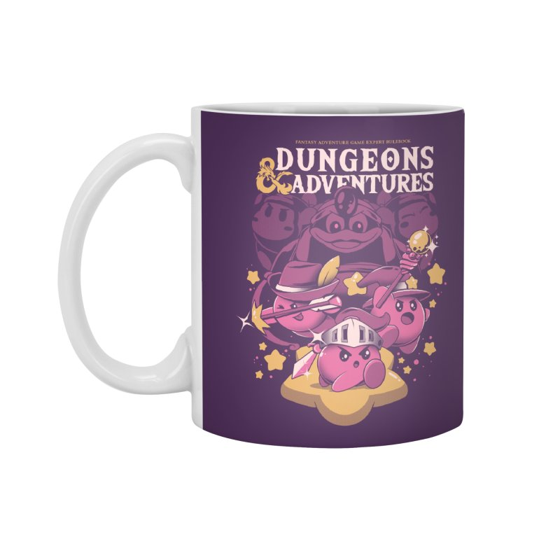 Dungeons and Adventures Accessories Standard Mug by ilustrata