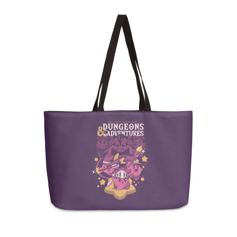 Dungeons and Adventures Accessories Weekender Bag Bag by ilustrata
