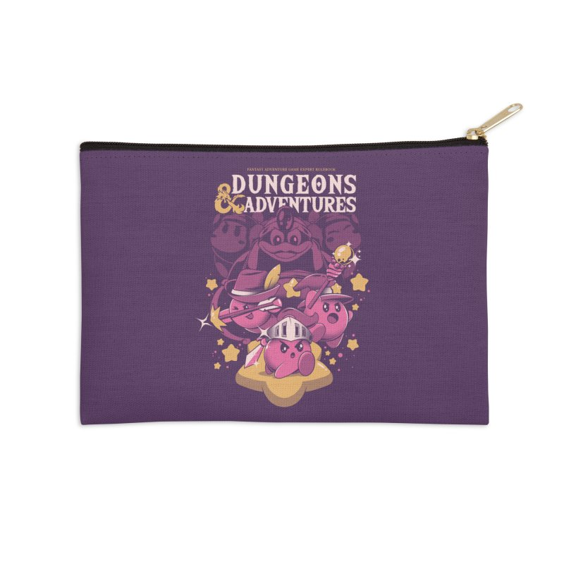 Dungeons and Adventures Accessories Zip Pouch by ilustrata