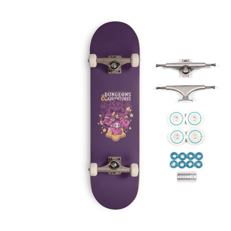 Dungeons and Adventures Accessories Complete - Basic Skateboard by ilustrata