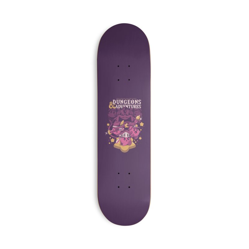 Dungeons and Adventures Accessories Deck Only Skateboard by ilustrata