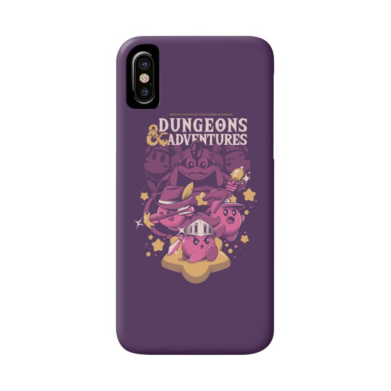 Dungeons and Adventures Accessories Phone Case by ilustrata