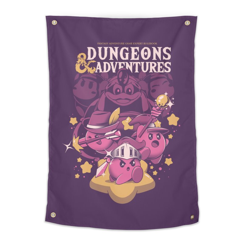 Dungeons and Adventures Home Tapestry by ilustrata