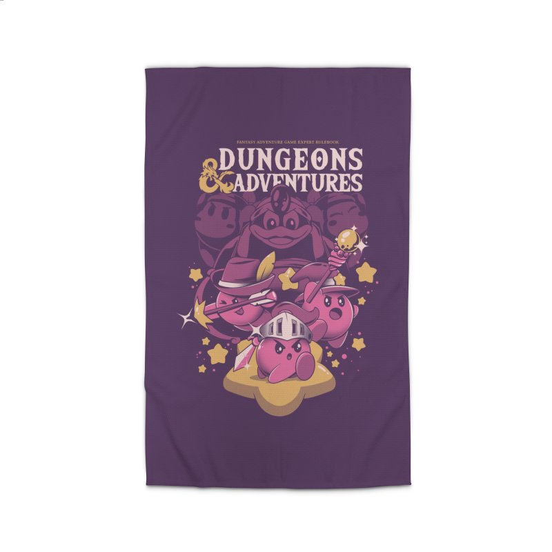 Dungeons and Adventures Home Rug by ilustrata