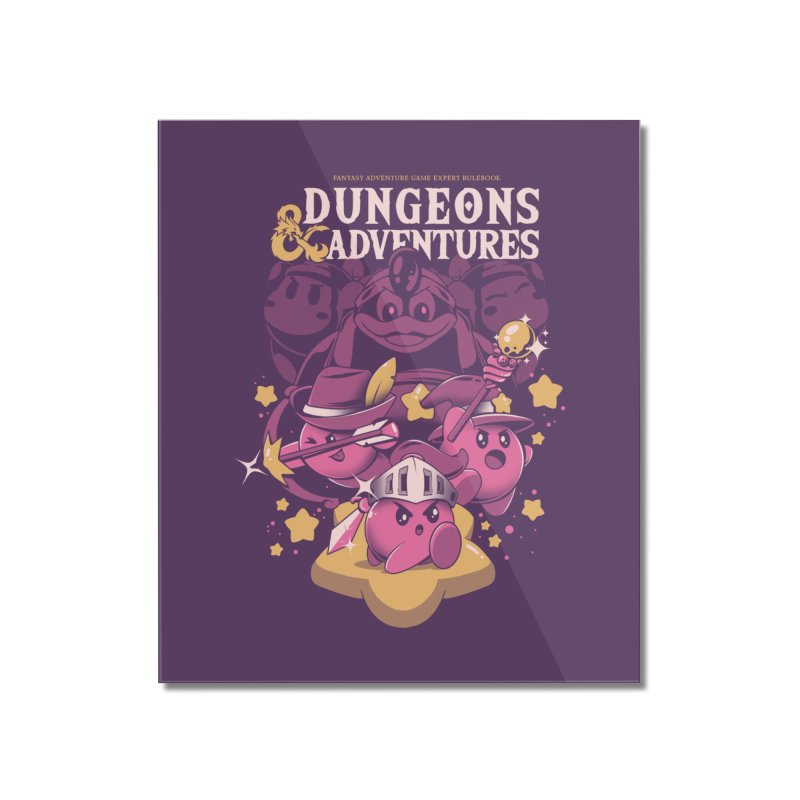 Dungeons and Adventures Home Mounted Acrylic Print by ilustrata