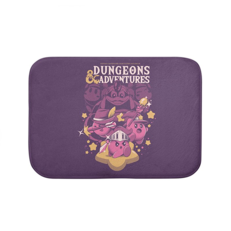 Dungeons and Adventures Home Bath Mat by ilustrata