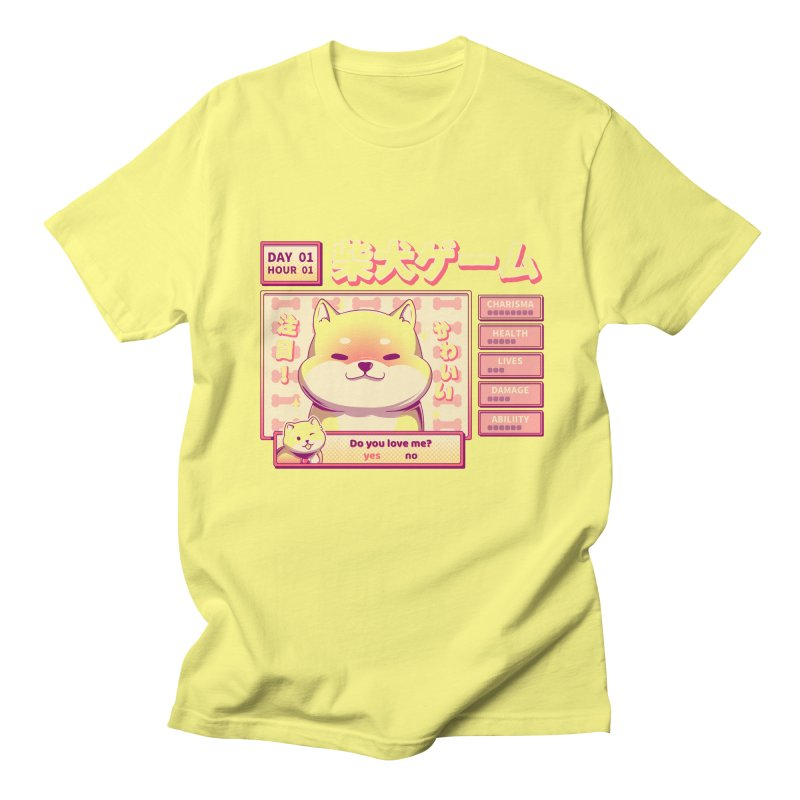Shiba Novel Men's T-Shirt by ilustrata