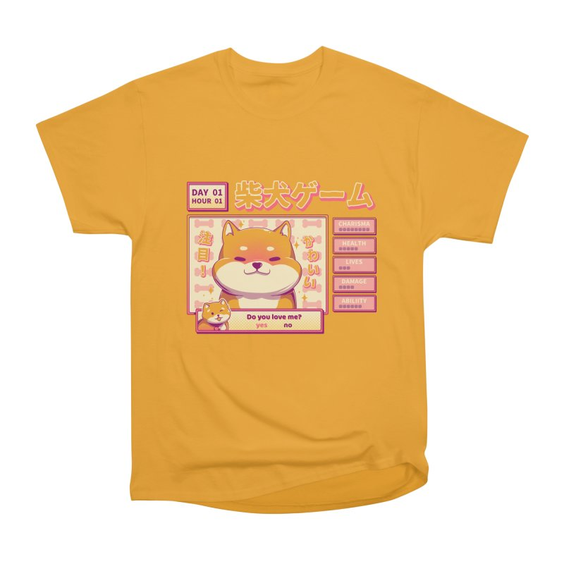Shiba Novel Men's Heavyweight T-Shirt by ilustrata