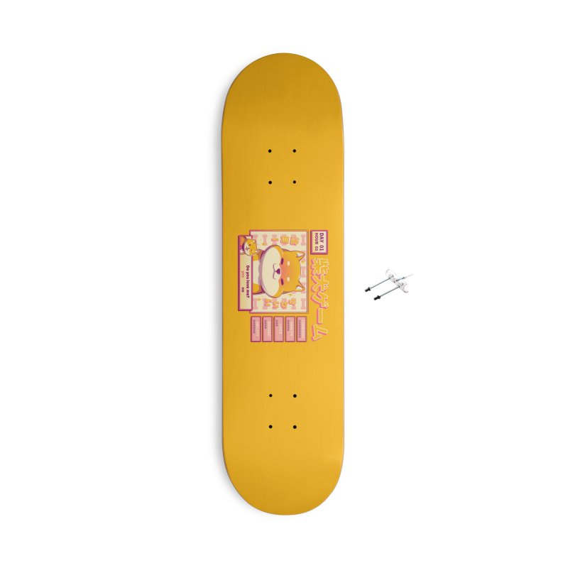 Shiba Novel Accessories With Hanging Hardware Skateboard by ilustrata