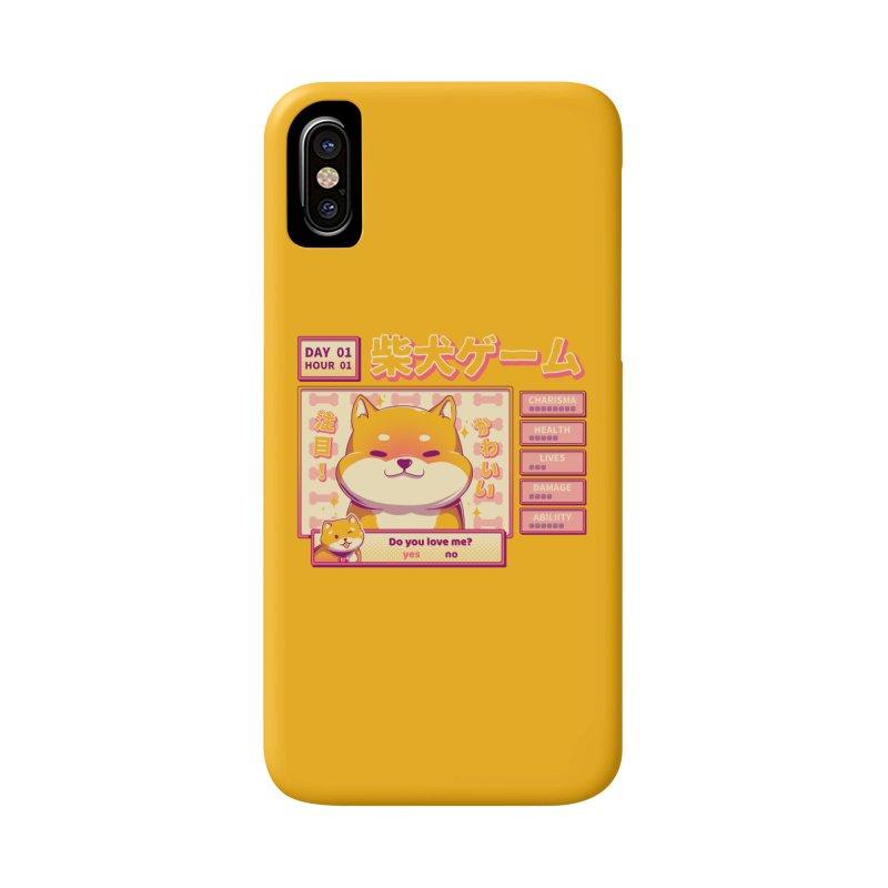 Shiba Novel Accessories Phone Case by ilustrata