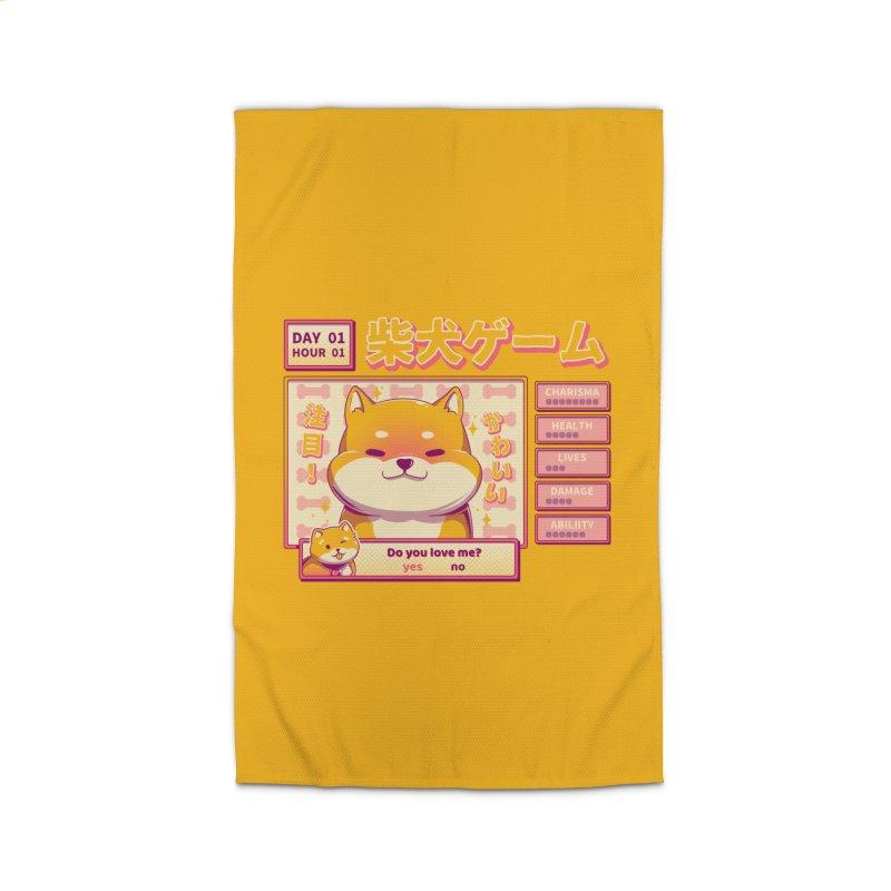 Shiba Novel Home Rug by ilustrata