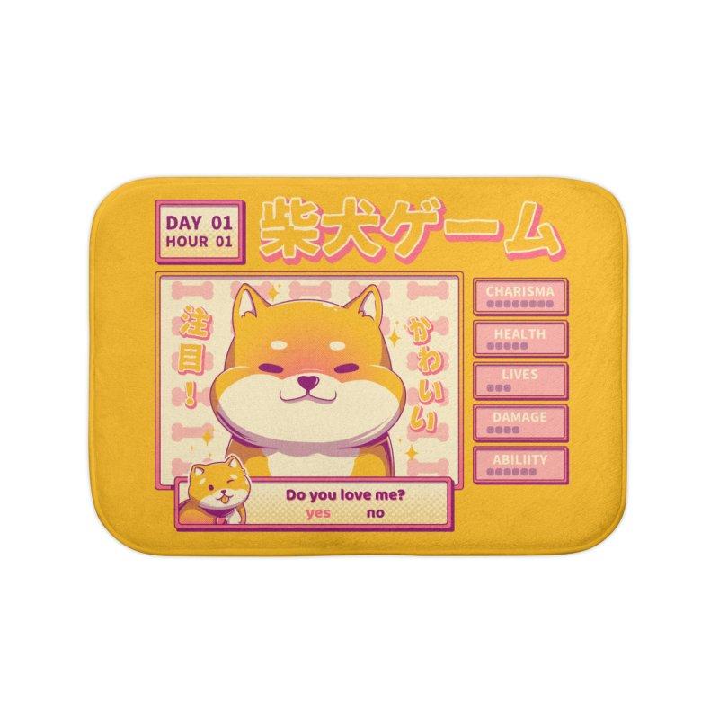 Shiba Novel Home Bath Mat by ilustrata