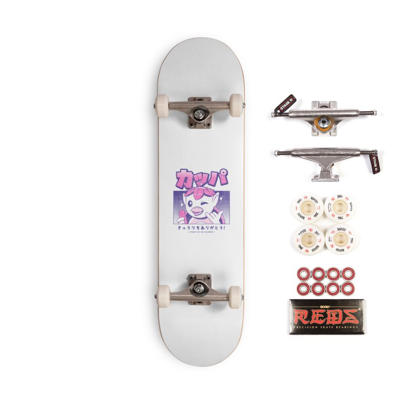 Japanese Kappa Accessories Complete - Pro Skateboard by ilustrata