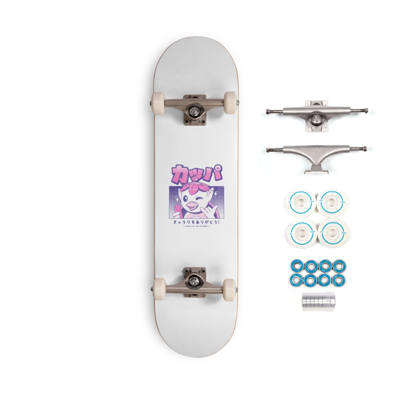 Japanese Kappa Accessories Complete - Basic Skateboard by ilustrata