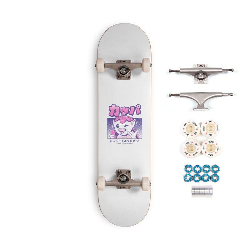 Japanese Kappa Accessories Complete - Premium Skateboard by ilustrata