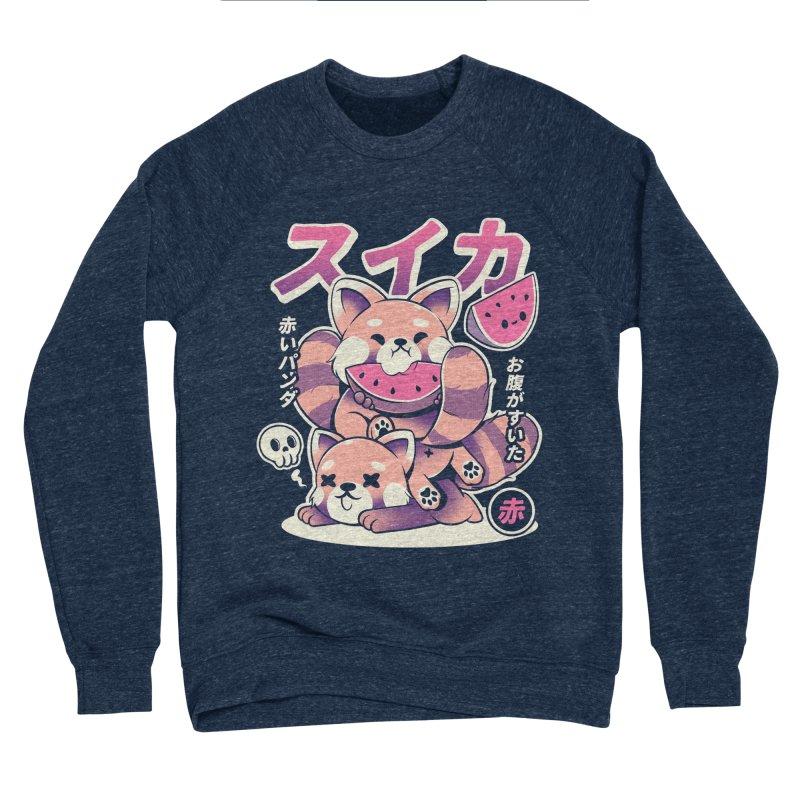 Watermelon Men's Sponge Fleece Sweatshirt by ilustrata