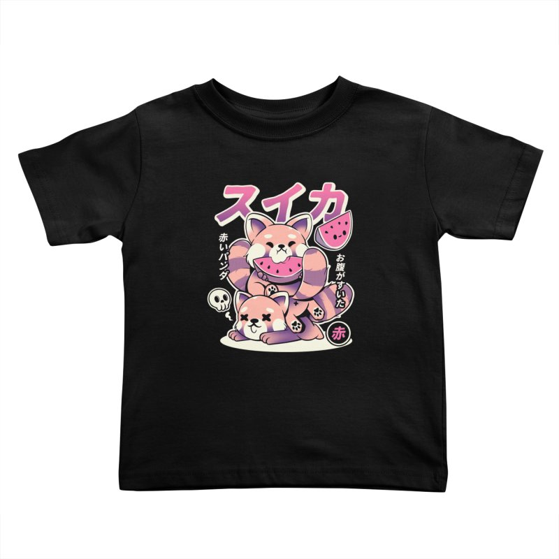 Watermelon Kids Toddler T-Shirt by ilustrata