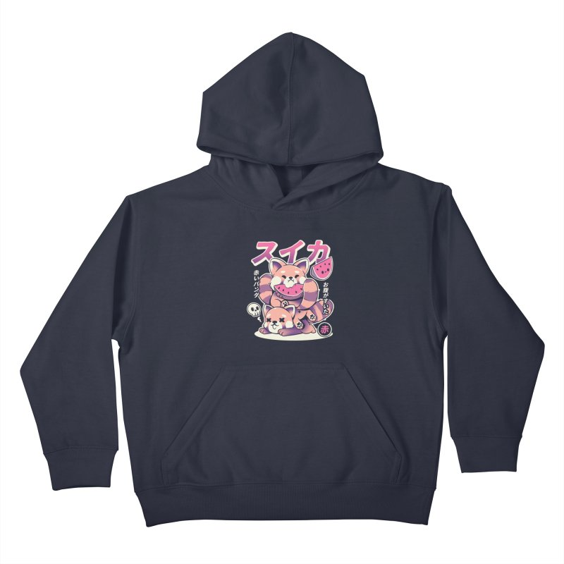 Watermelon Kids Pullover Hoody by ilustrata