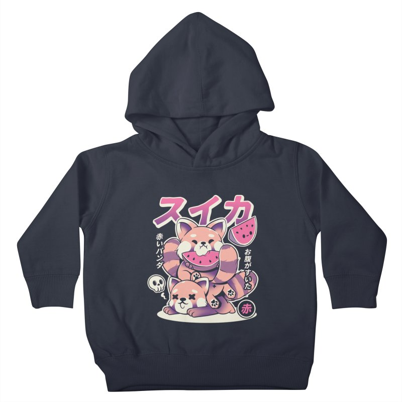 Watermelon Kids Toddler Pullover Hoody by ilustrata